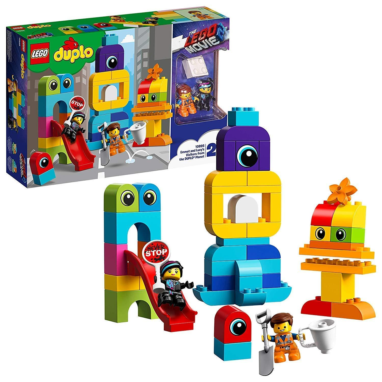 Platte 1 x 8 mit Schiene blau 4510 blue NEU LEGO  1 Stk